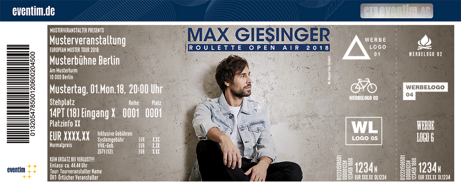 Max Giesinger Roulette Open Air 2018 In Tettnang Am 29 07 2018