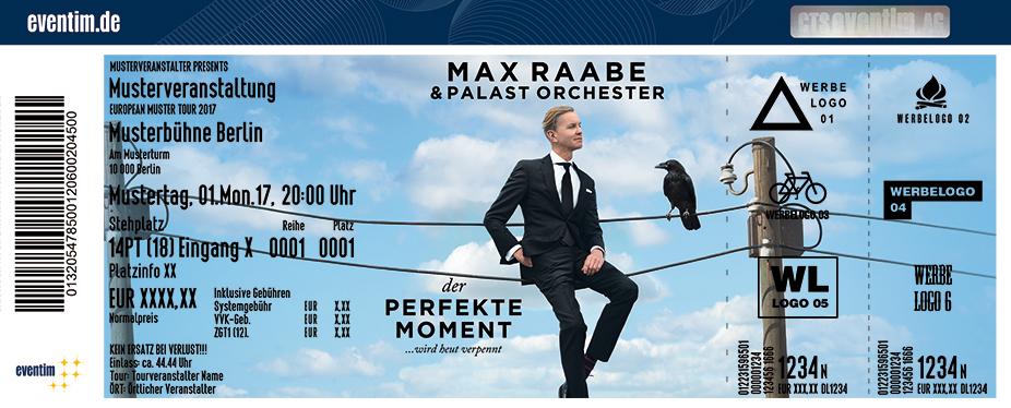 Karten für Max Raabe & Palast Orchester: Der perfekte Moment ... wird heut verpennt in Zwickau