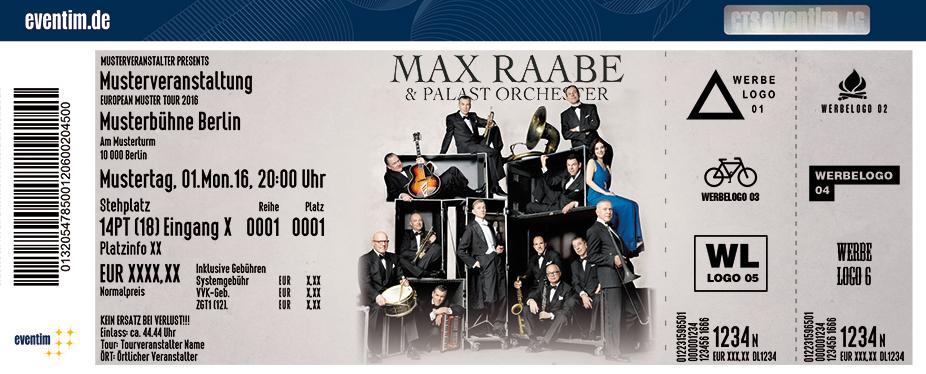 Karten für Max Raabe & Palast Orchester - Neues Programm in Halle / Saale