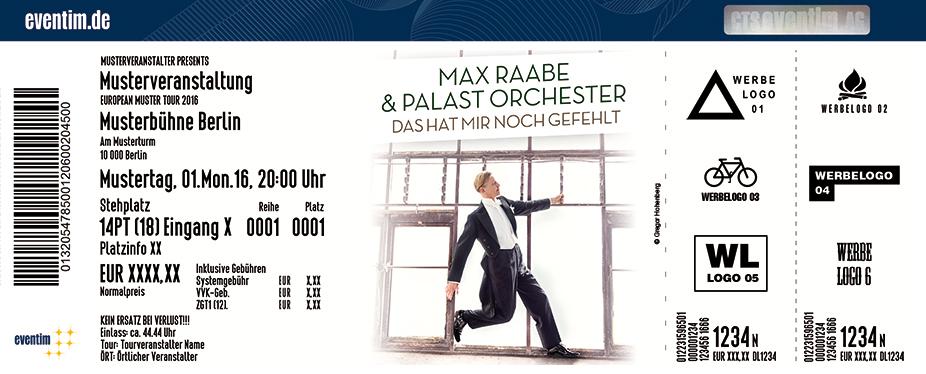 Karten für Max Raabe & Palast Orchester: Das hat mir noch gefehlt in Saarbrücken