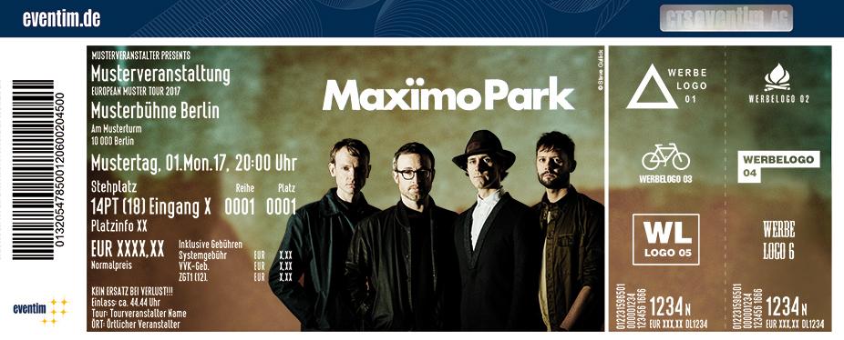Karten für Maximo Park in Köln