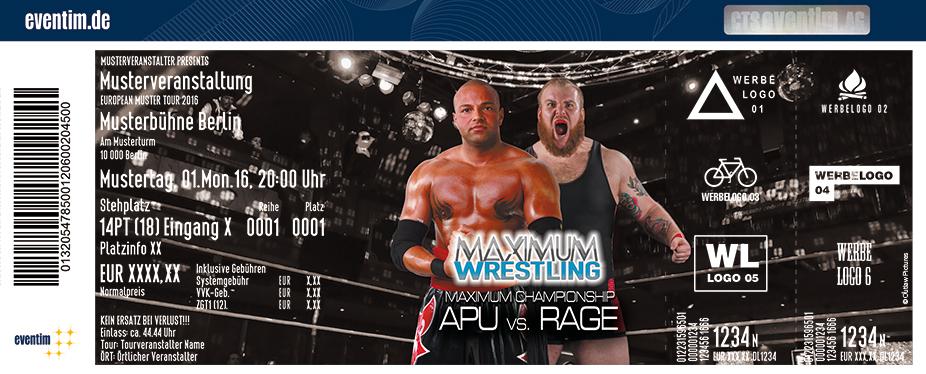 Karten für Maximum Wrestling in Kiel