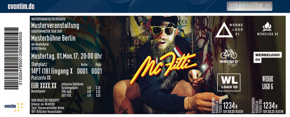 Karten für MC Fitti in Wiesbaden