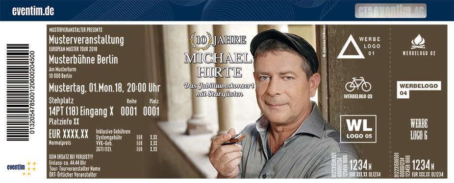 Michael Hirte Karten für ihre Events 2018