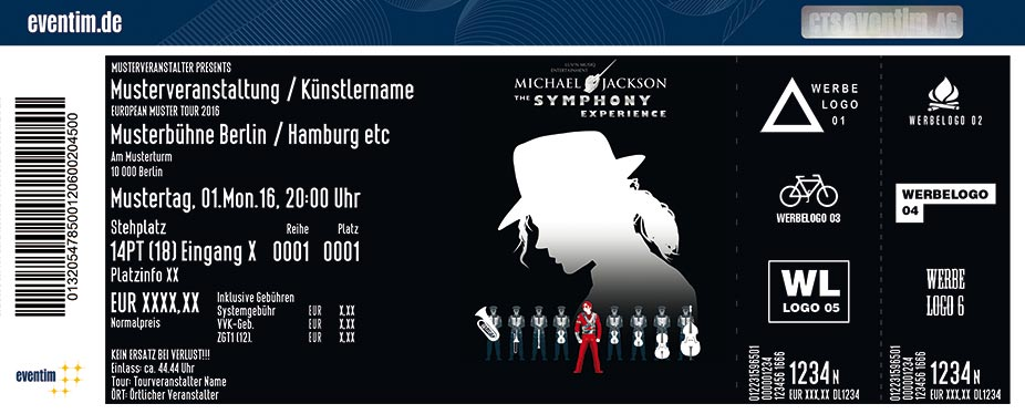Karten für Michael Jackson - The Symphony Experience in Hannover