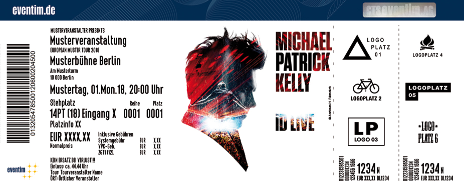 Michael Patrick Kelly - iD Tour 2019