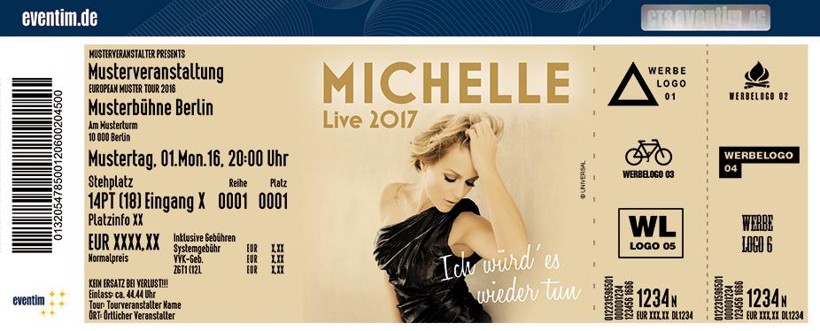 Michelle Karten für ihre Events 2017