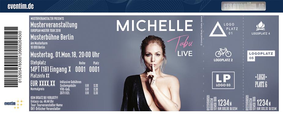 Jetzt Tickets für Michelle - Tabu Live sichern » Eventim