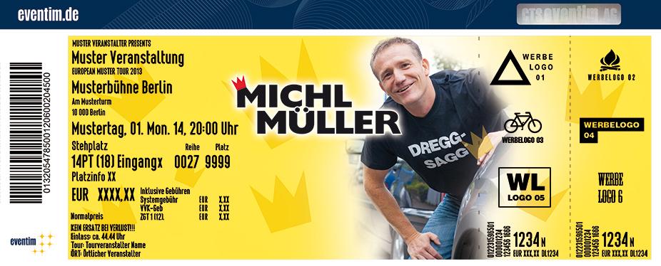 Michl Müller Karten für ihre Events 2017