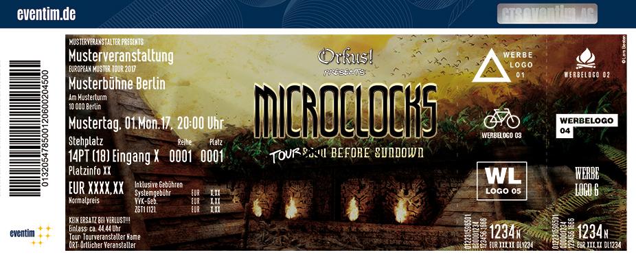Karten für microClocks in Krefeld