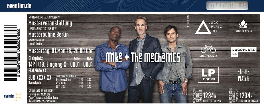Mike & The Mechanics: Looking Back Over My Shoulder Tour 2019