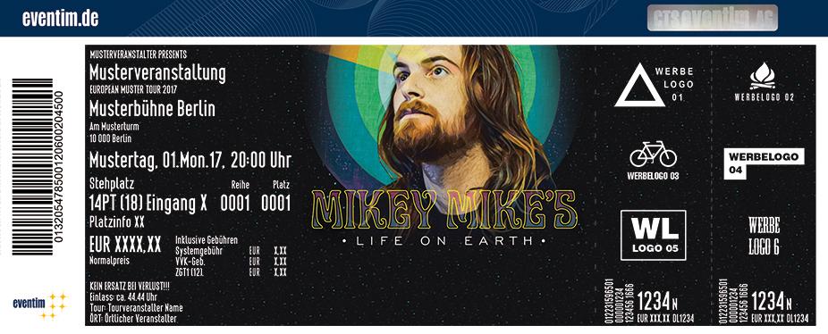 Karten für Mikey Mike - Live 2018 in Berlin