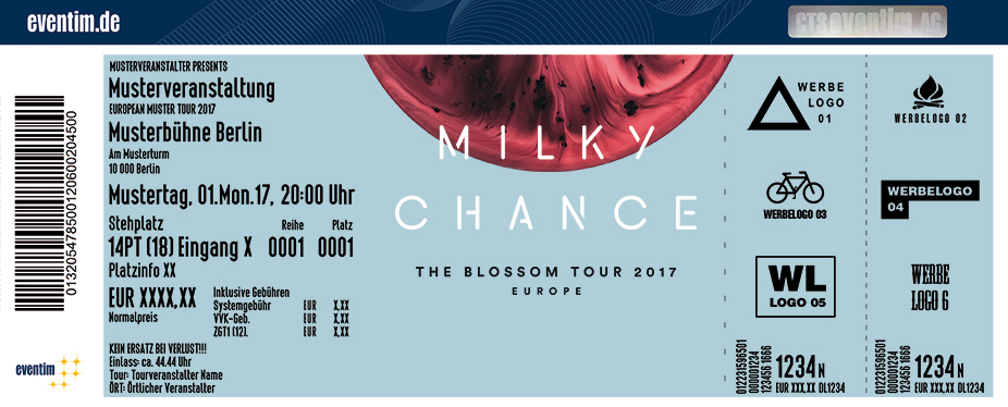 Karten für Milky Chance: The Blossom Tour 2017 in Esch Alzette / Luxemburg