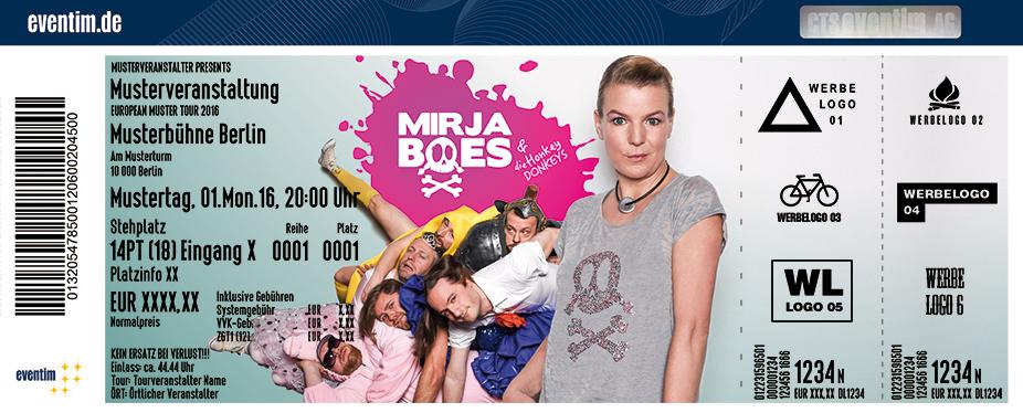 Karten für Mirja Boes & Band: Für Geld tun wir alles in Erding