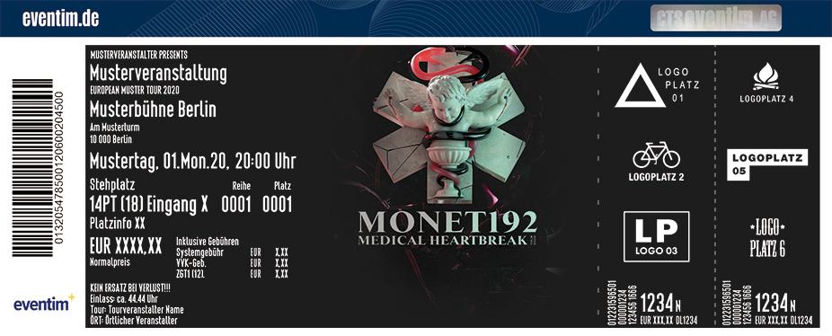 Monet192 - Medical Heartbreak Tour 2020