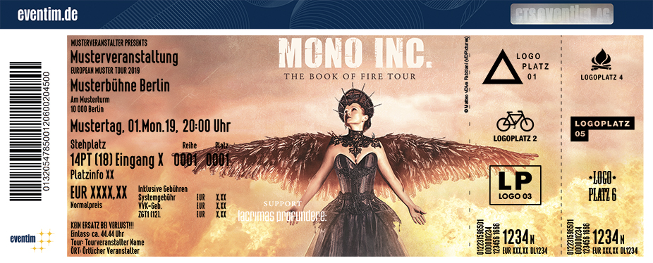 Mono Inc. - The Book Of Fire Tour