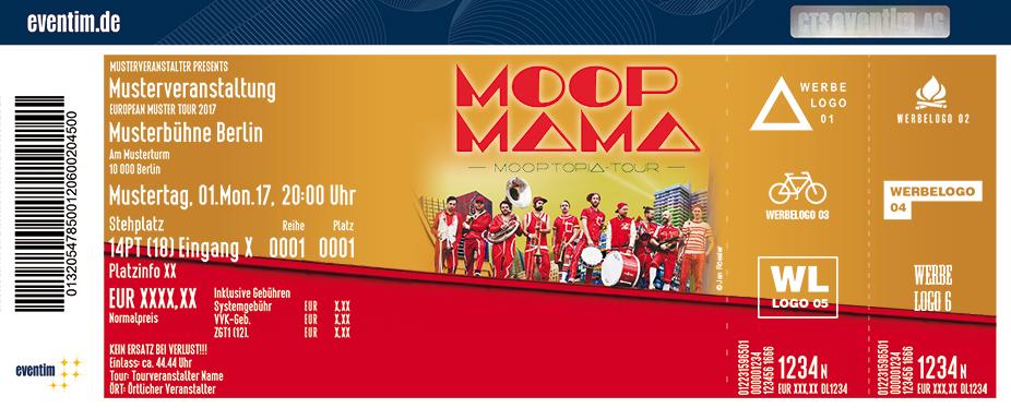 Karten für Moop Mama: M.O.O.P.Topia Tour 2017 in Marburg
