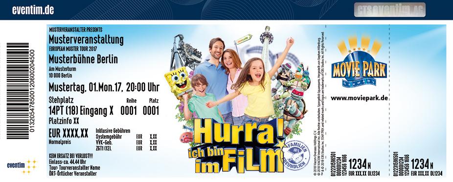 Movie Park Germany Karten für ihre Events 2018