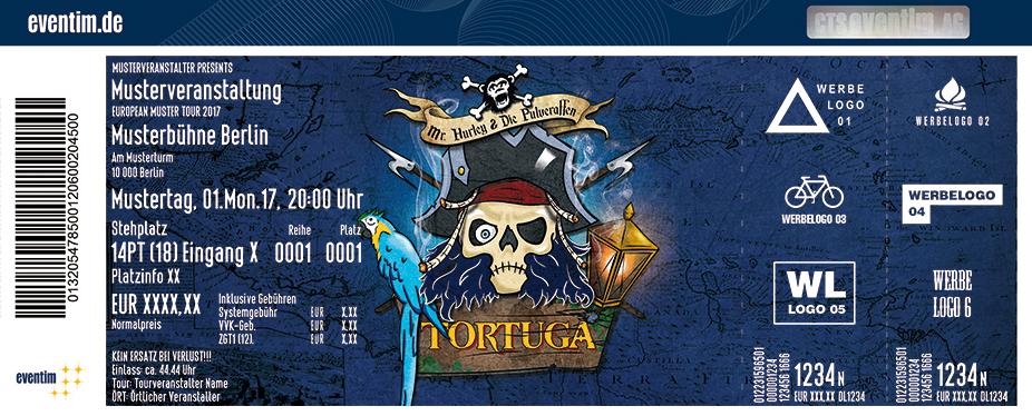 Karten für Mr. Hurley & Die Pulveraffen: Tortuga Tour 2018 in Nürnberg