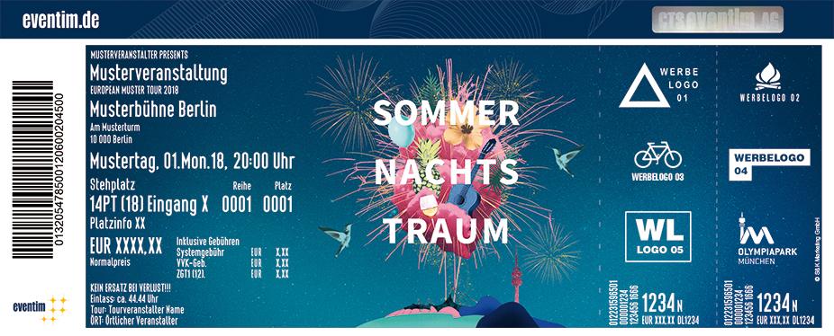 Münchner Sommernachtstraum Karten für ihre Events 2018
