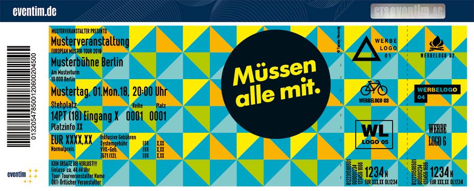 Müssen Alle Mit Festival Karten für ihre Events 2018