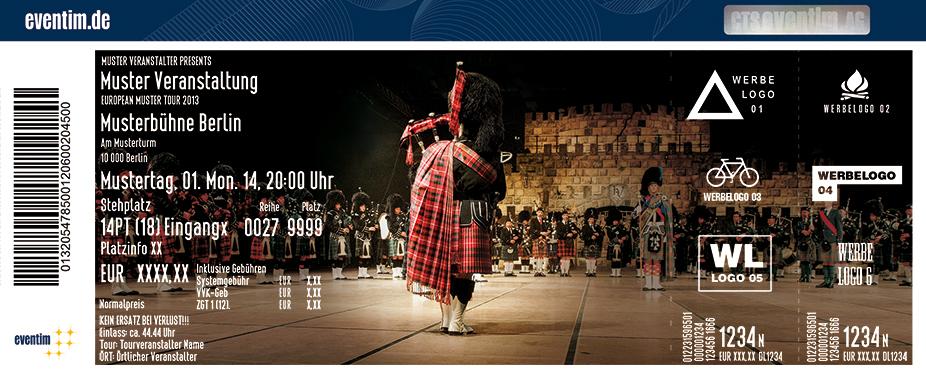 Karten für Music Show Scotland / Musikschau Schottland in Krefeld