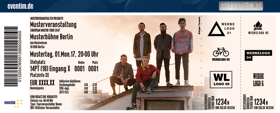 Karten für Neck Deep: The Peace And The Panic Tour 2017 in Hamburg
