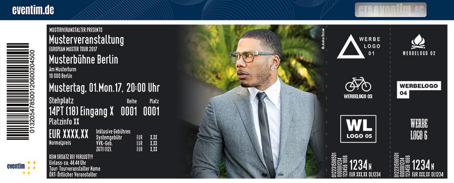 Nelly Karten für ihre Events 2017