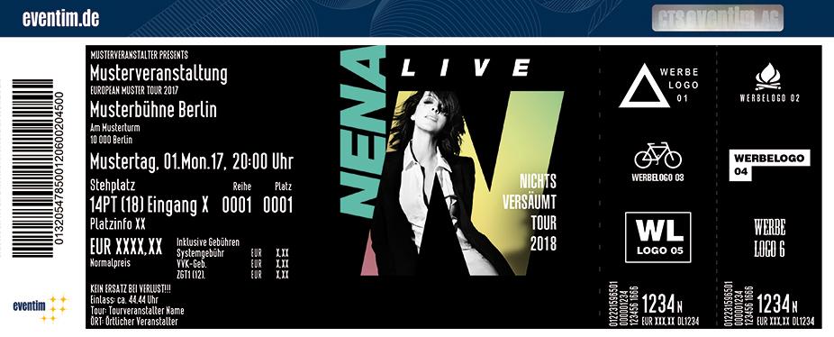 Karten für NENA: Nichts Versäumt Tour 2018 in Erfurt