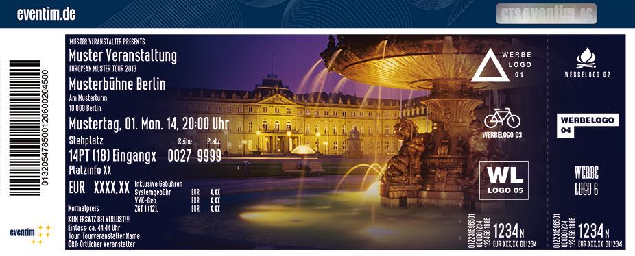 Karten für Beethoven - Symphonie Nr. 9 - Stuttgarter Schlosskonzerte in Stuttgart