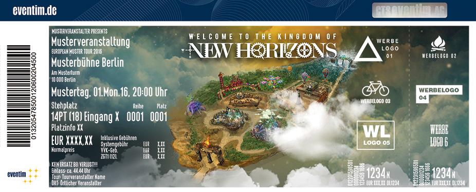 Karten für NEW HORIZONS FESTIVAL in Nürburg