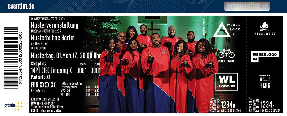 Karten für New York Gospel Stars: 10 Jahre Jubiläumstournee in Wesel