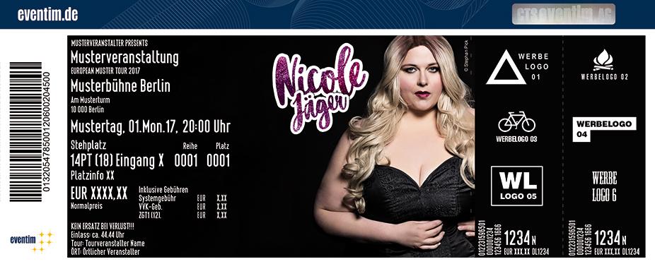 Karten für Nicole Jäger: Nicht direkt perfekt! in Vechta