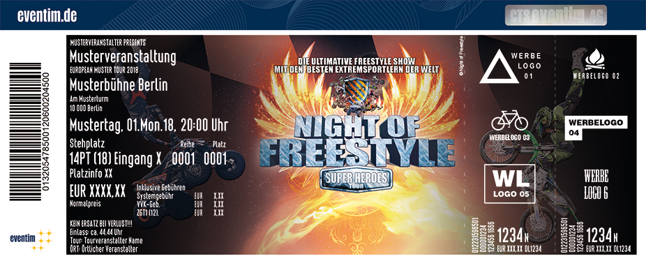 Night Of Freestyle: Super Heroes Tour