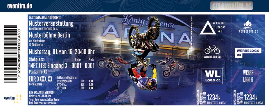 Karten für Night of the Jumps 2017 in Oberhausen