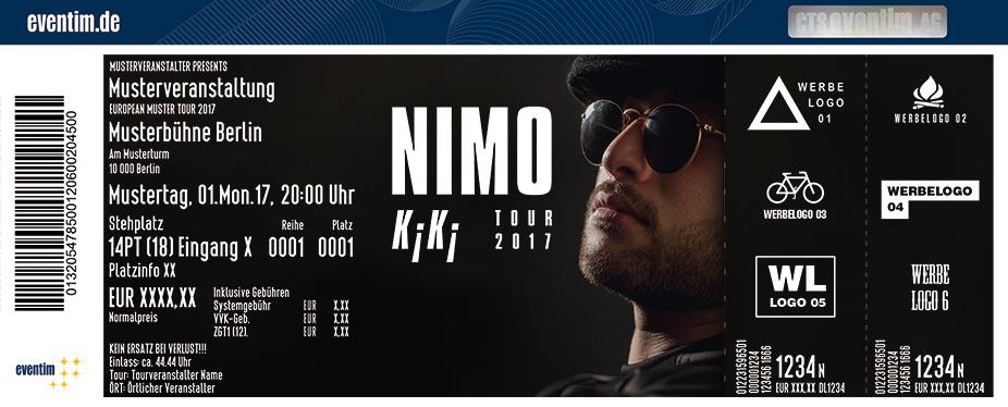 Karten für Nimo: K¡K¡ Tour 2017 in Leipzig