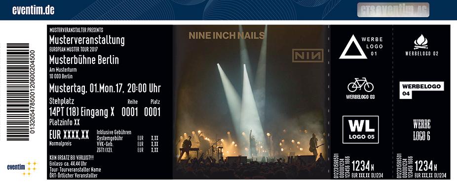 Nine Inch Nails Karten für ihre Events 2018