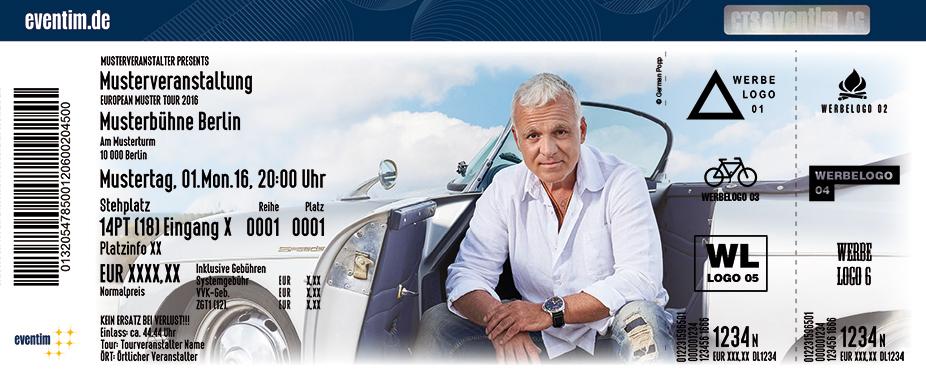 Karten für Nino de Angelo - Die Tour 2017 in Kempten