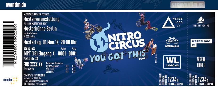 Nitro Circus Karten für ihre Events 2018