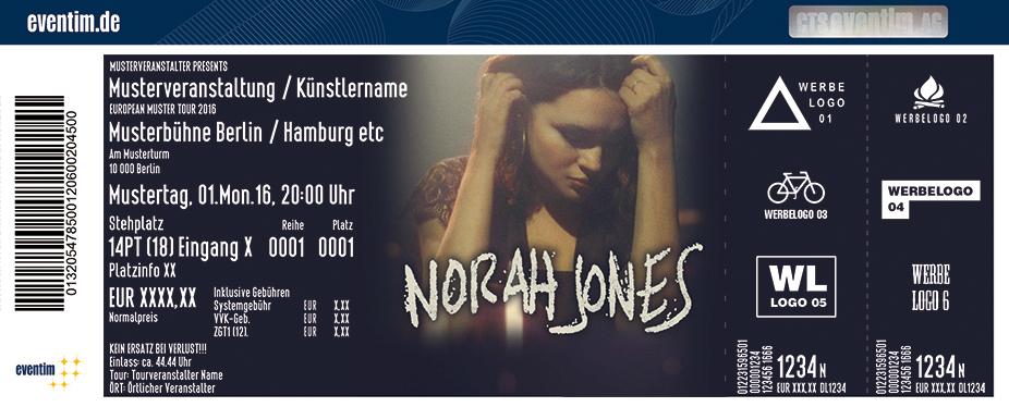 Norah Jones Karten für ihre Events 2017