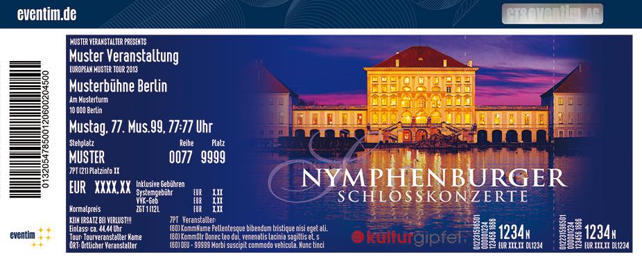 Karten für Vivaldi: Die vier Jahreszeiten - Nymphenburger Schlosskonzerte in München