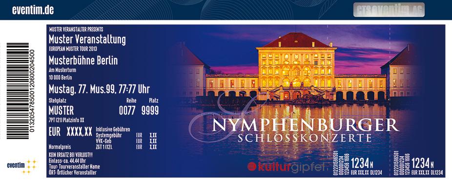 Karten für Beethoven: Symphonie Nr. 9 | Nymphenburger Schlosskonzerte in München