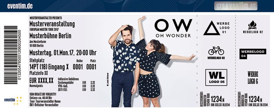 Karten für Oh Wonder in Köln