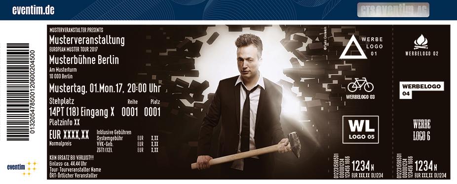 Karten für Olaf Bossi: Harmoniesüchtig in Hannover