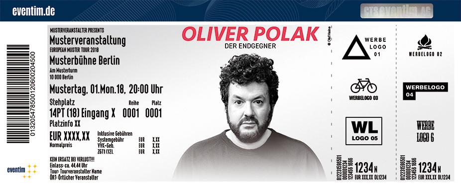 Karten für Oliver Polak - Der Endgegner in Freiburg