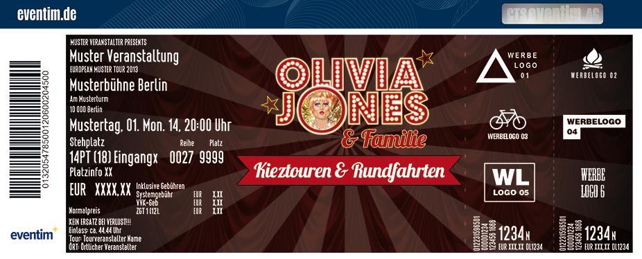 Karten für Olivias Safaris - die Kult-Kieztouren von Olivia Jones in Hamburg