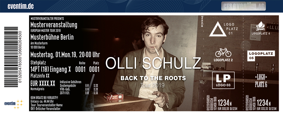 Olli Schulz - Back To The Roots Tour 2019