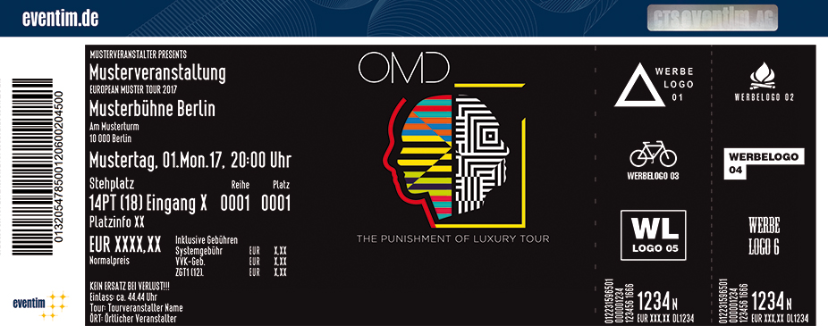 Karten für OMD: The Punishment of Luxury Tour in Offenbach Am Main