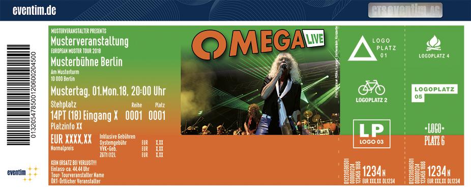 Omega Tickets 2019 - Karten jetzt zu Top-Preisen bestellen » Eventim
