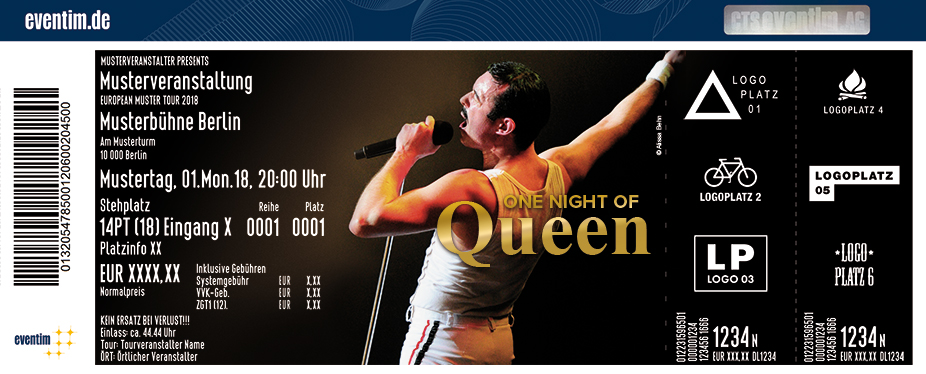One Night of Queen performed by Gary Mullen & The Works 2021